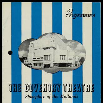 Coventry Theatre, March 1964
