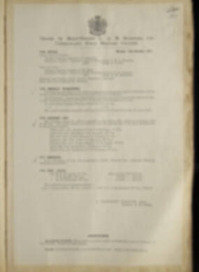 Routine Orders - June 1918 - April 1919 - Page 133