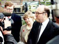 Labour leader, John Smith M P visits Merton Civic Centre