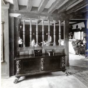 Dining Room, Brinsop Court, Herefordshire