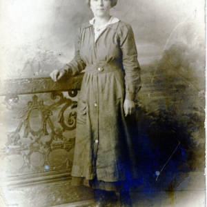 Nellie Lambert, aged 19 years