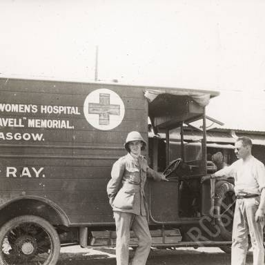 Scottish Women's Hospital 'Edith Cavell' Memorial Glasgow X-Ray Ambulance