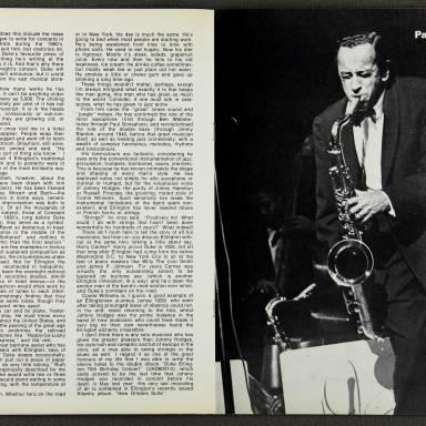 Duke Ellington Orchestra British Tour - October 1971 006