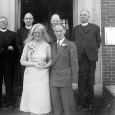 Catholic Wedding with priests