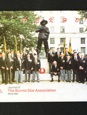 DEKHO! The Journal of The Burma Star Association - Issue No. 142, Year 2002