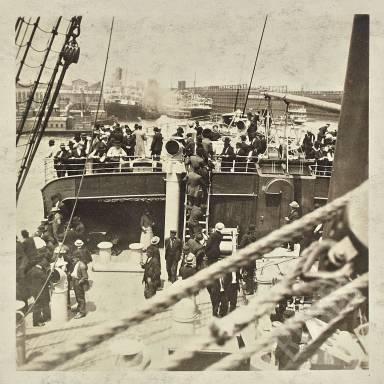Sailing From Hoboken
