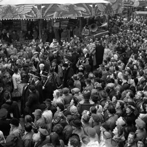Opening of the May Fair in Hereford, 1949