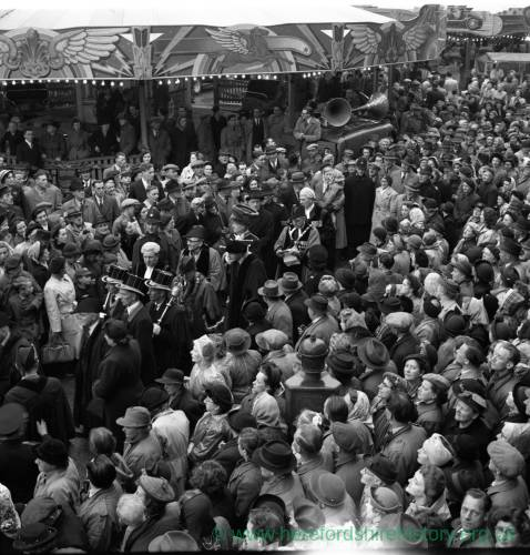 Hereford May Fair opening 1949