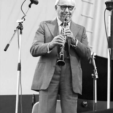 Benny Goodman, 1982.