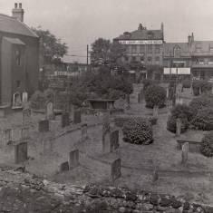 Church Row and St Hildas graveyard