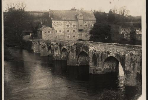 Staverton Bridge, c1950, Staverton