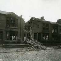 Downing Road, bomb damage, Blitz