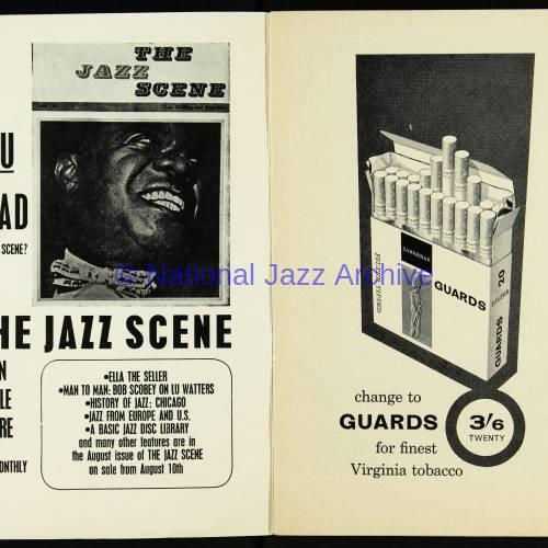 Chris Barber's Jazz Band with Ottilie Patterson, National Jazz Festival, Richmond - 1962 002