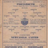 19481002 Newcastle Programme
