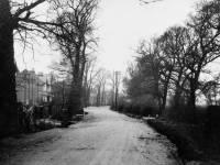 West Barnes Lane: Showing Adela Avenue on the left