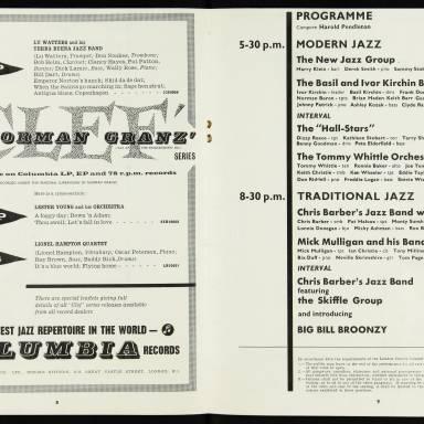 National Jazz Federation Royal Festival Hall - 1955 005