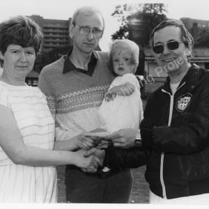 Chapeltown Radio Hallam Marching Band Gala July 1986