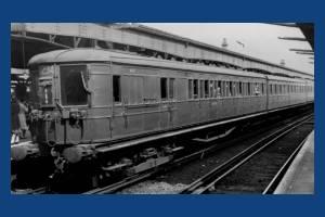 "LSWR ""Bullet"" train"