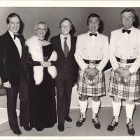 Photograph - Bernard Cotton with Jack Milroy, Mary Lee and The Alexander Brothers