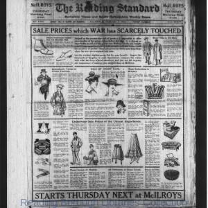 Reading Standard Etc 1918