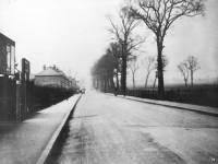 Morden Road: View looking north