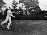 J Brugnon playing J. C. Masterman, All England Lawn Tennis championships, Wimbledon