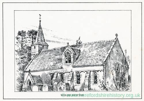 Welsh Newton - St Mary's Church