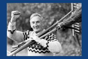 Merton Council Groundsman, John Warner