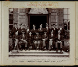 Photograph Album - 1911-1916_0031 Debating Society 1914.jpg