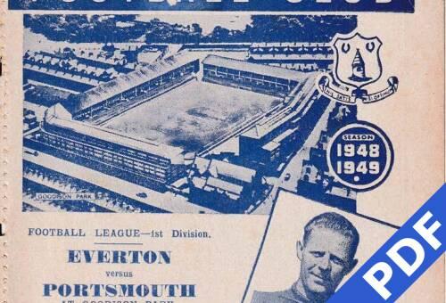 19480901 Official Programme Everton Away