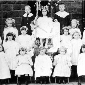 Grenoside May Queen, Alice Keene, 1911