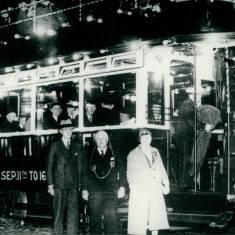 Tram 93 Celebrating the Illuminations