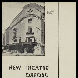 New Theatre, Oxford, August 1952