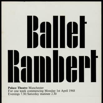Palace Theatre, Manchester, April 1968