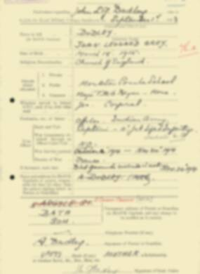 RMC Form 18A Personal Detail Sheets Feb & Sept 1933 Intake - page 191