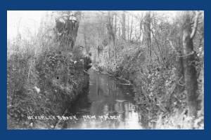 Beverley Brook. New Malden