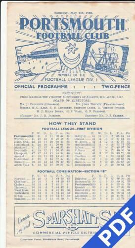 19500506 Aston Villa Home