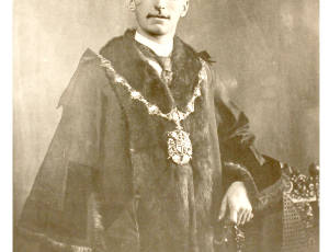 1919-1920, William Grundy, Mayor of Leigh.
