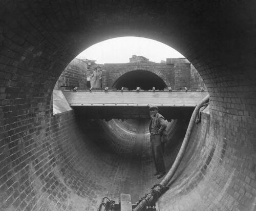 Flume at Manhole No 10