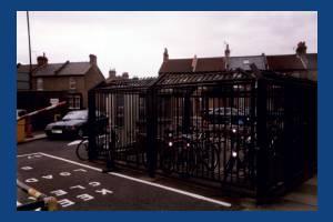 Crown Road, Morden: Civic Centre Cycle Park