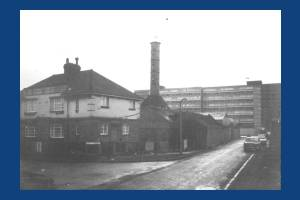 Batsworth Road: Cock Chimney Works