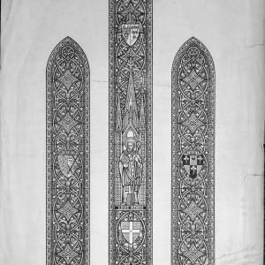 St Martins Church, Hereford, east window