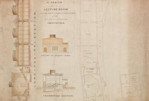 Devon and Exeter Institution Plans