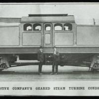 Steam turbine locomotives