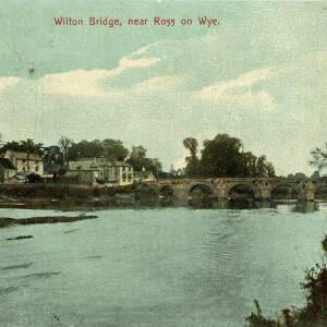 POP023 Wilton Bridge, near Ross on Wye, published by E S London, no 1230, c1907.jpg