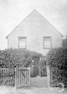 Old House, Church Road, Mitcham:  Demolished 1882