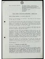 Newsletters 1997 - 2003 (Autumn)