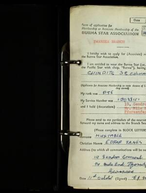Huxtable, Edgar James - H/2300/73