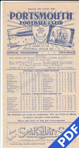 19491029 Manchester United