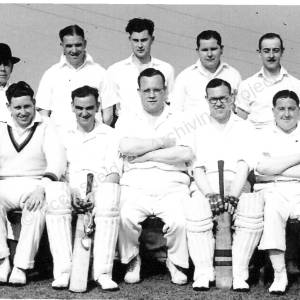 Grenoside Cricket Team c 1950s  b
